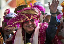 Celebs and politicians at Ajmer Sharif