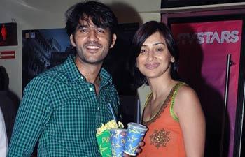Hiten Tejwani and Gauri Tejwani