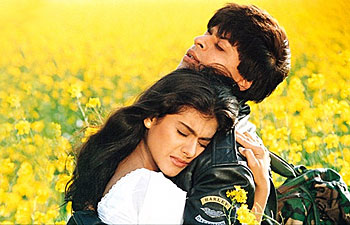 A still from Dilwale Dulhania Le Jayenge