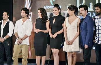 Bipasha Basu, Shahid Kapoor, Mika Singh, Sonakshi Sinha, Prabhu Deva, Anil Kapoor and Neha Dhupia