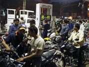 Protests against petrol price hike