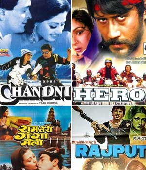 Bollywood 80s: Mix of action and romance