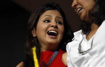 Sakshi, wife of Chennai Super Kings' captain Mahendra Singh Dhoni