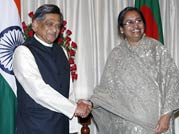 S.M. Krishna and Dipu Moni