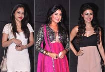 Sumona Chakravarti, Kritika Kamra and Mouni Roy