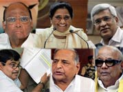 Political reactions to Pranab Mukherjee's presidential candidature.
