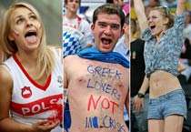 Euro 2012 fans