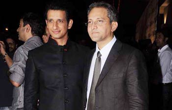Sharman Joshi and Rajesh Mapuskar