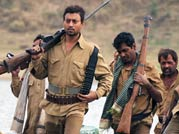 A still from Paan Singh Tomar