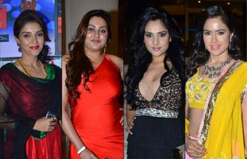 Asin, Namithha, Ramya and Sameera Reddy