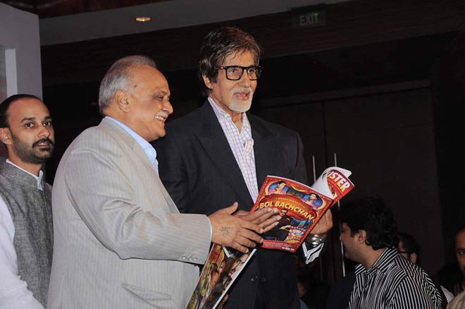 Big B launches Blockbuster magazine