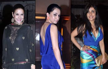 Celebs at Nari Hira's birthday bash