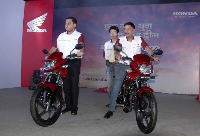 Honda's Dream Yuga motorcycle