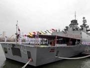 Stealth warship INS Sahyadri commissioned