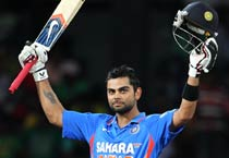 Ind vs SL: Kohli's ton lights up Hambantota