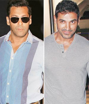 Neil Nitin Mukesh, Salman Khan and John Abraham