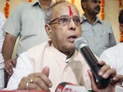 pranab mukherjee, bhopal, presidential polls