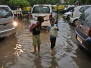 First the good news: It's finally raining in Delhi. But hold on! Water-logging and traffic jams are tagging along as well