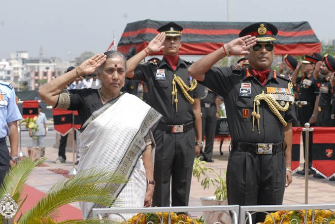 Paying homage to martyrs