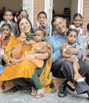 Shankar Krishnan and Divya Bhalla
