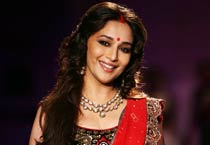 DCW Day 3: Madhuri Dixit walks the ramp for Anju Modi
