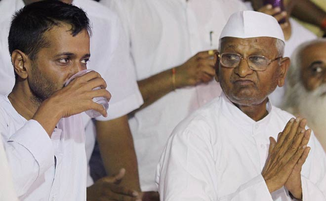 anna hazare, team anna, arvind kejriwal, jantar mantar, prashant bhushan