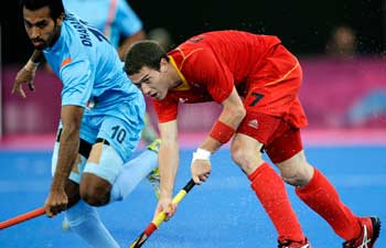 Inian Hockey Team Vs Belgium Hockey Team