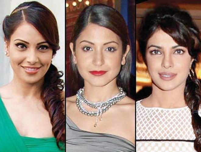 Bipasha Basu, Anushka Sharma and Priyanka Chopra