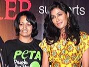 Chitrangada Singh unveils PETA and Joker ad