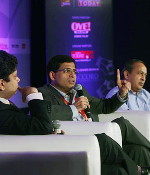 Dignitaries at the Mail Today Education Conclave 2012