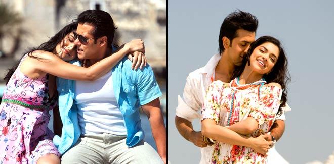 Salman Khan, Katrina Kaif, Ranbir Kapoor and Deepika Padukone