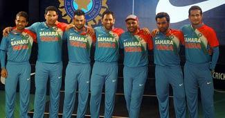 Team India members