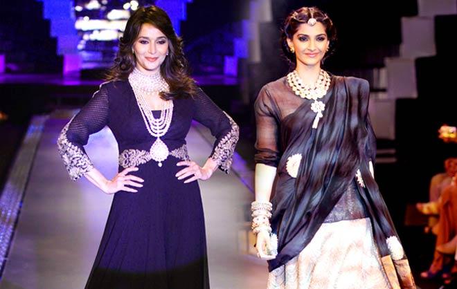 Madhuri Dixit and Sonam Kapoor