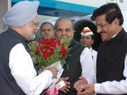 Manmohan Singh, K. Sankaranarayanan and Prithviraj Chavan