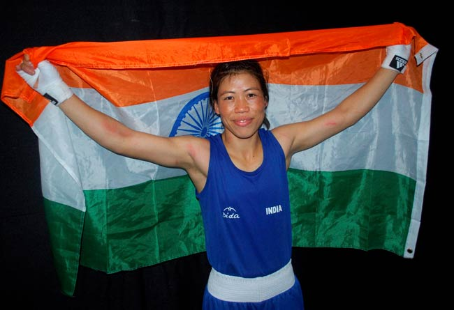 India's MC Mary Kom became an inspiration for many with her bronze medal in London