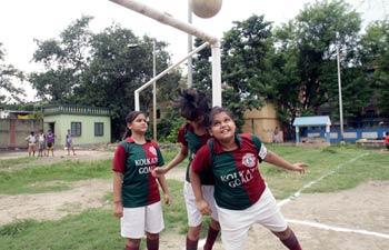 Right To Play program in Kolkata