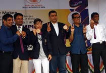 London Olympics medallists felicitated