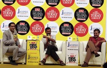 Arvind Kejriwal, Sandeep Dikshit & Rahul Kanwal