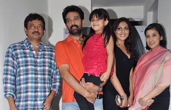 Ram Gopal Varma, Manisha Koirala, J.D. Chakravarthy, Madhu Shalini and Alayana Sharma