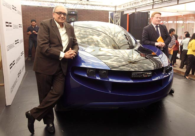 Dilip Chhabria launches concept car