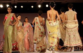 Models at Blender's Pride Fashion Tour in Kolkata
