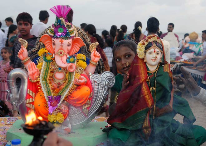 Lord Ganesha immersion