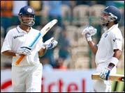 India's Virat Kohli (right) and captain MS Dhoni