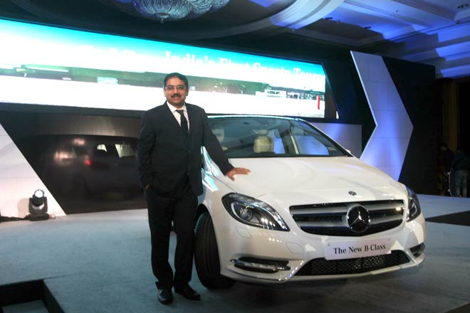 Mercedes Benz B-Class launch function in India