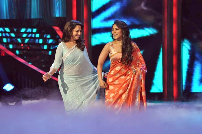 Madhuri Dixit and Rani Mukerji