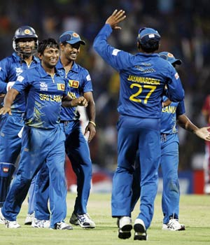 SL vs WI World T20 Super 8 match