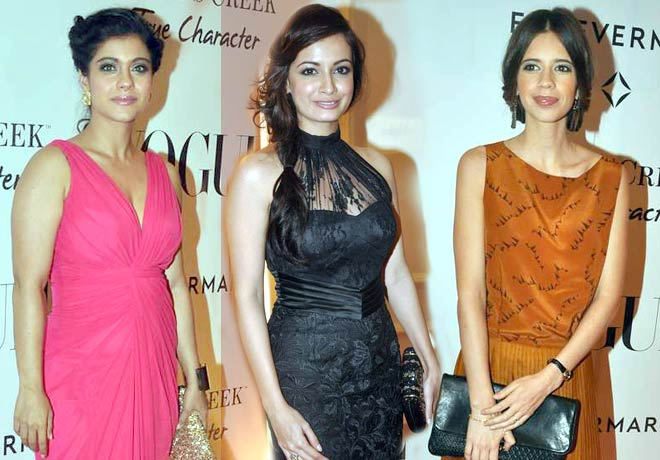 Kajol, Dia Mirza and Kalki