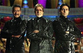 Amitabh Bachchan's dance numbers