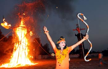 Dussehra: Ramlila celebrations in Lucknow and Chandigarh