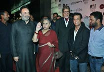 Celebs at the screening of Chittagong